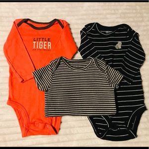 Carter's onesie lot baby boy 3-6 months bundle